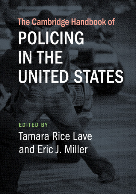 book cover: The Cambridge Handbook of Policing in the United States