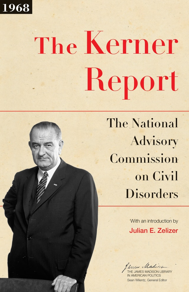 book cover: The Kerner Report