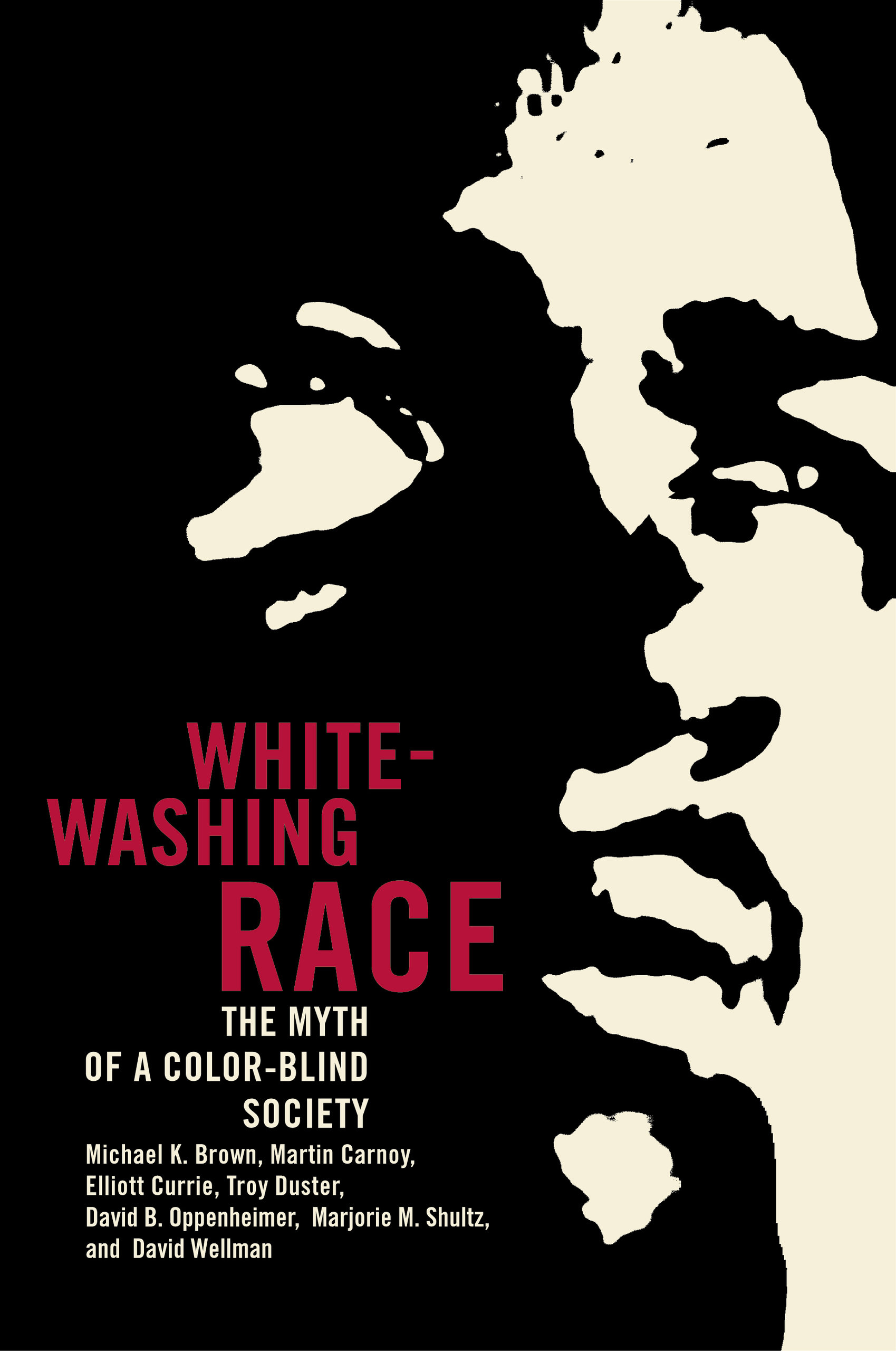 book cover: Whitewashing Race : The Myth of a Color-Blind Society