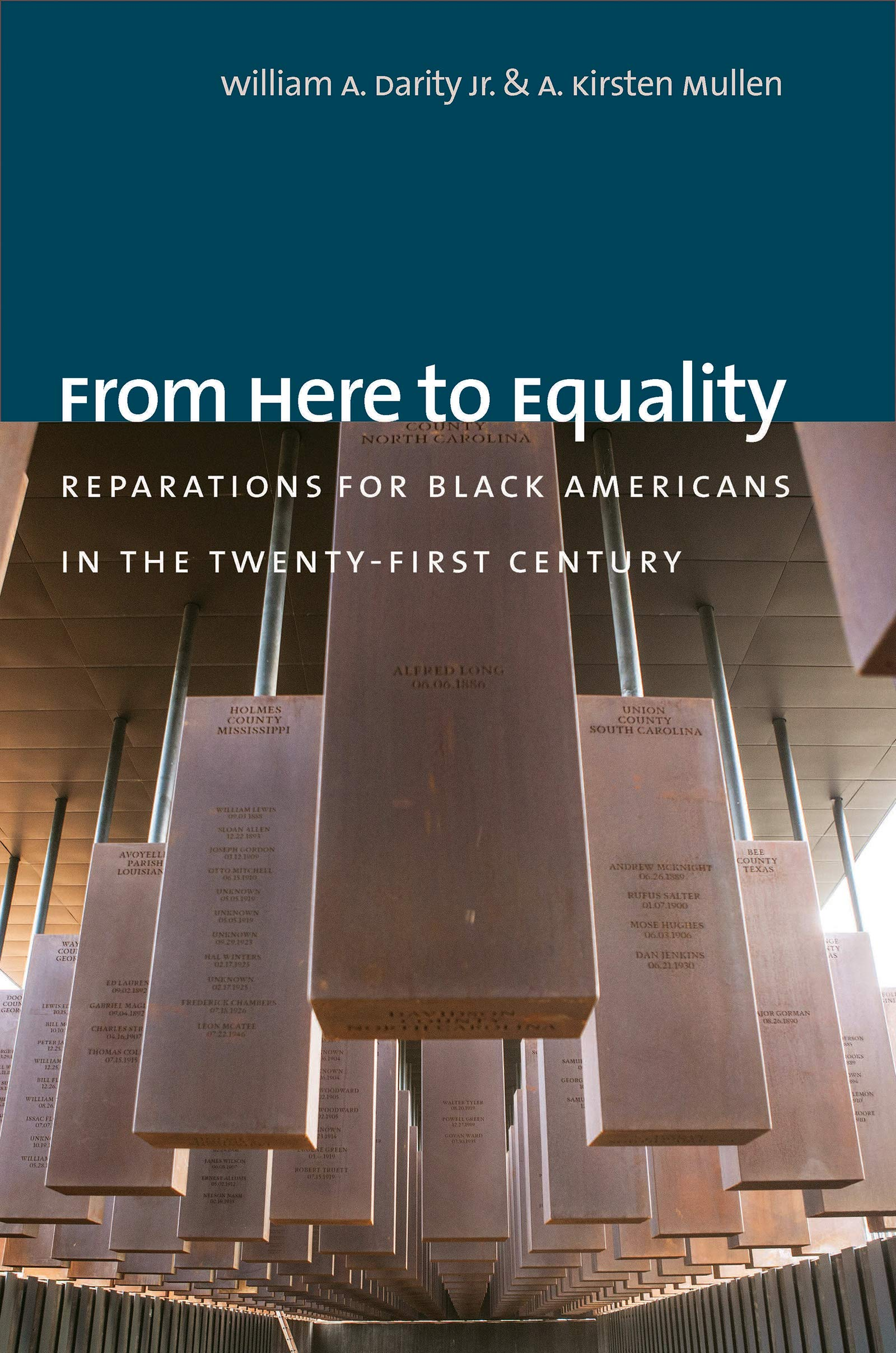 book cover: From Here to Equality : Reparations for Black Americans in the Twenty-First Century