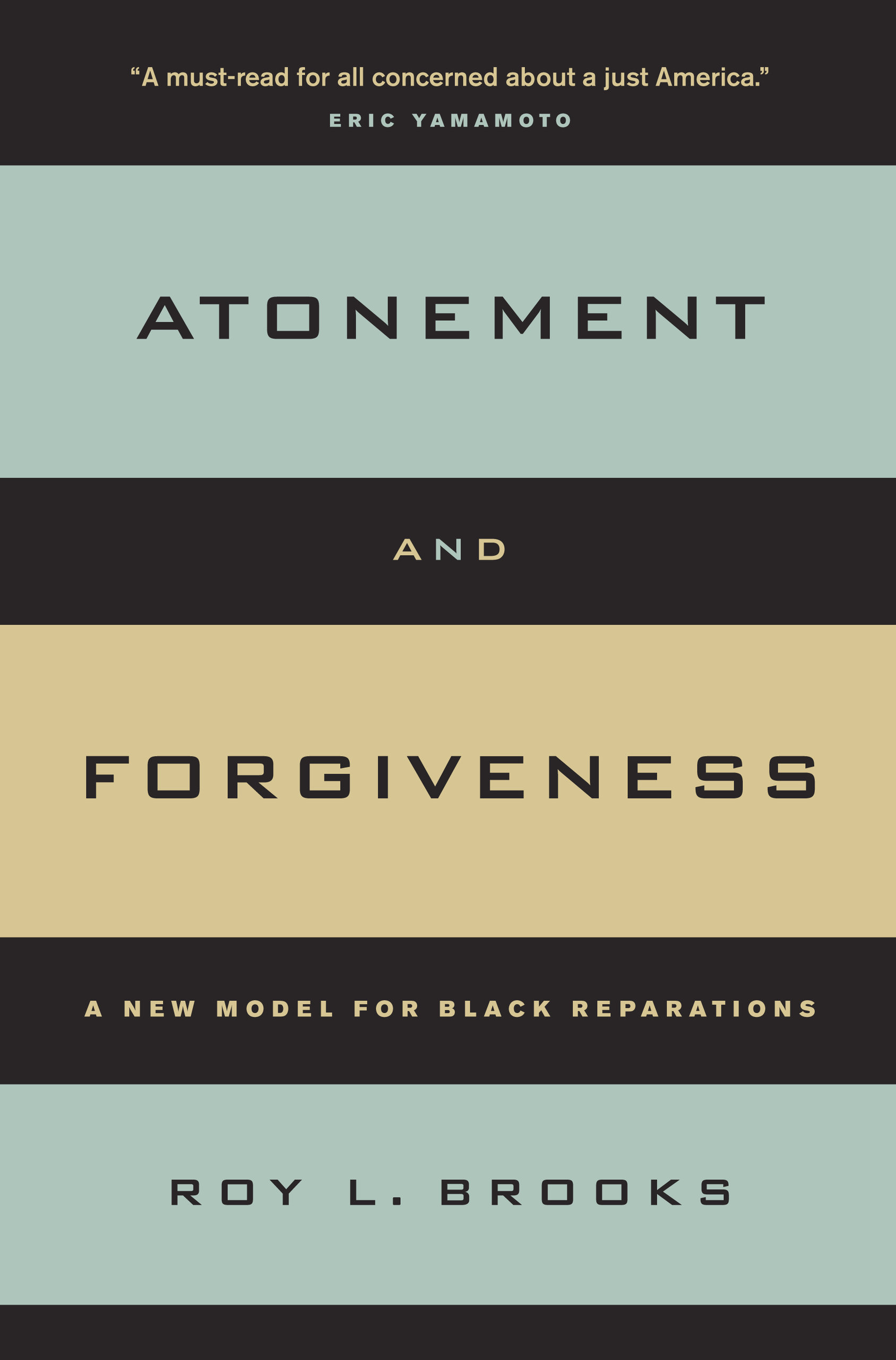 book cover: Atonement and Forgiveness: A New Model for Black Reparations