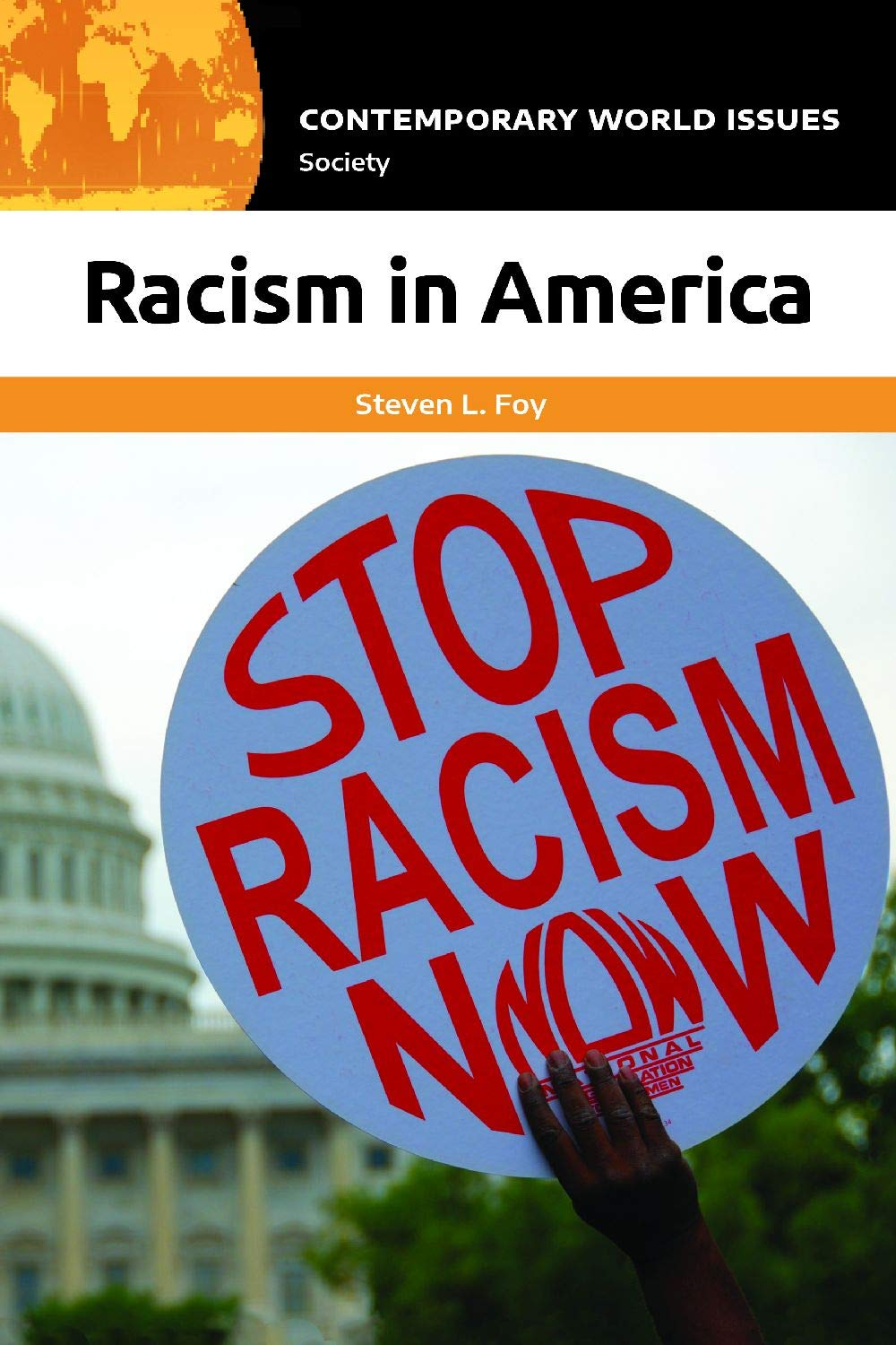 book cover: Racism in America: A Reference Handbook