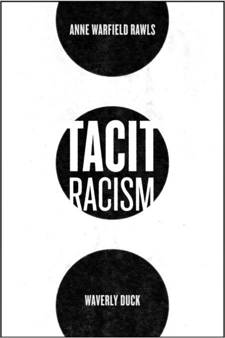 book cover: Tacit Racism