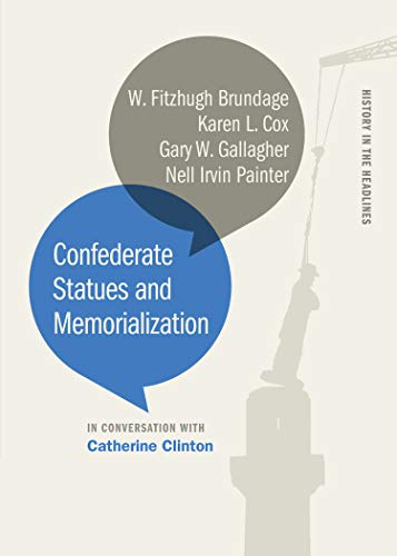 book cover: Confederate Statues and Memorialization