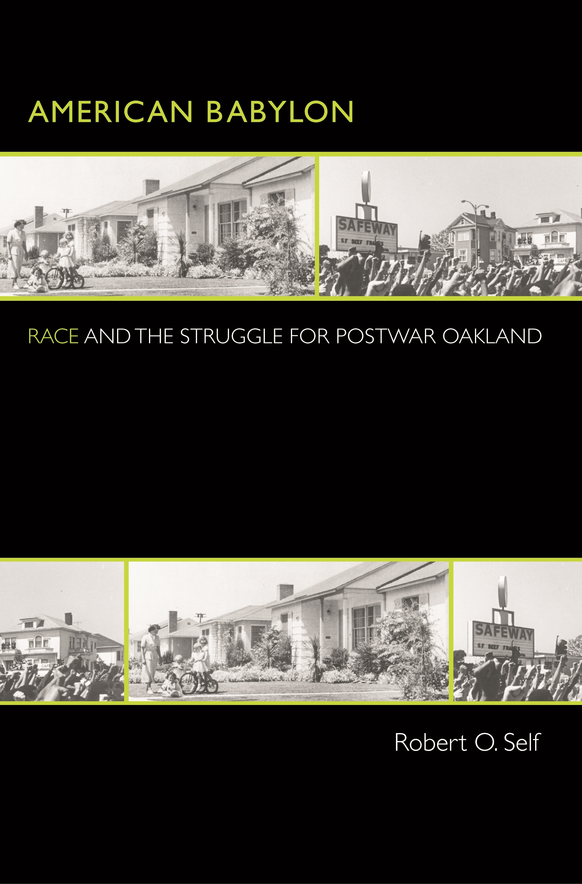 book cover: American Babylon: Race and the Struggle for Postwar Oakland