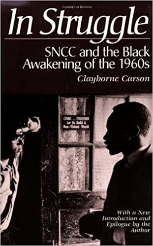 book cover: In Struggle: SNCC and the Black Awakening of the 1960s.