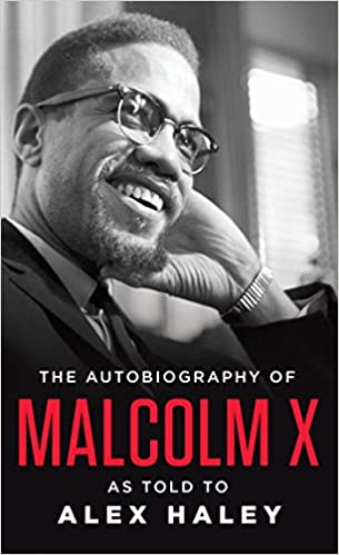 book cover: The Autobiography of Malcolm X