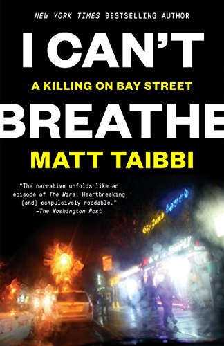 book cover: I Can't Breathe: A Killing on Bay Street
