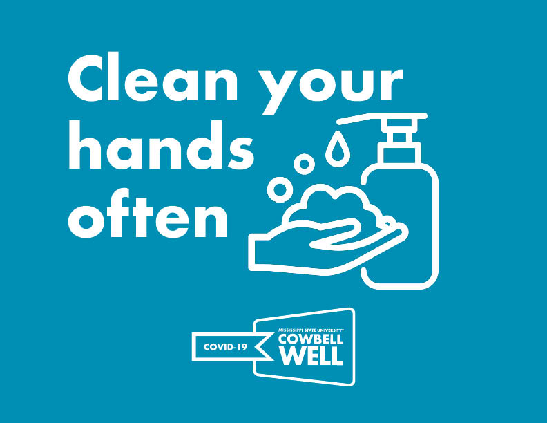 Clean your hands frequently