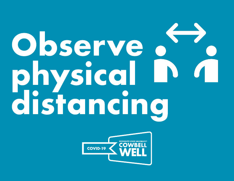 Observe physical distancing