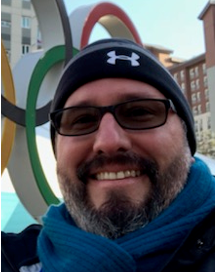 Dr. Riddle at 2018 winter Olympics