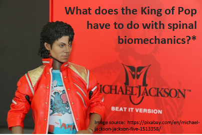 The King of Pop and spinal biomechanics