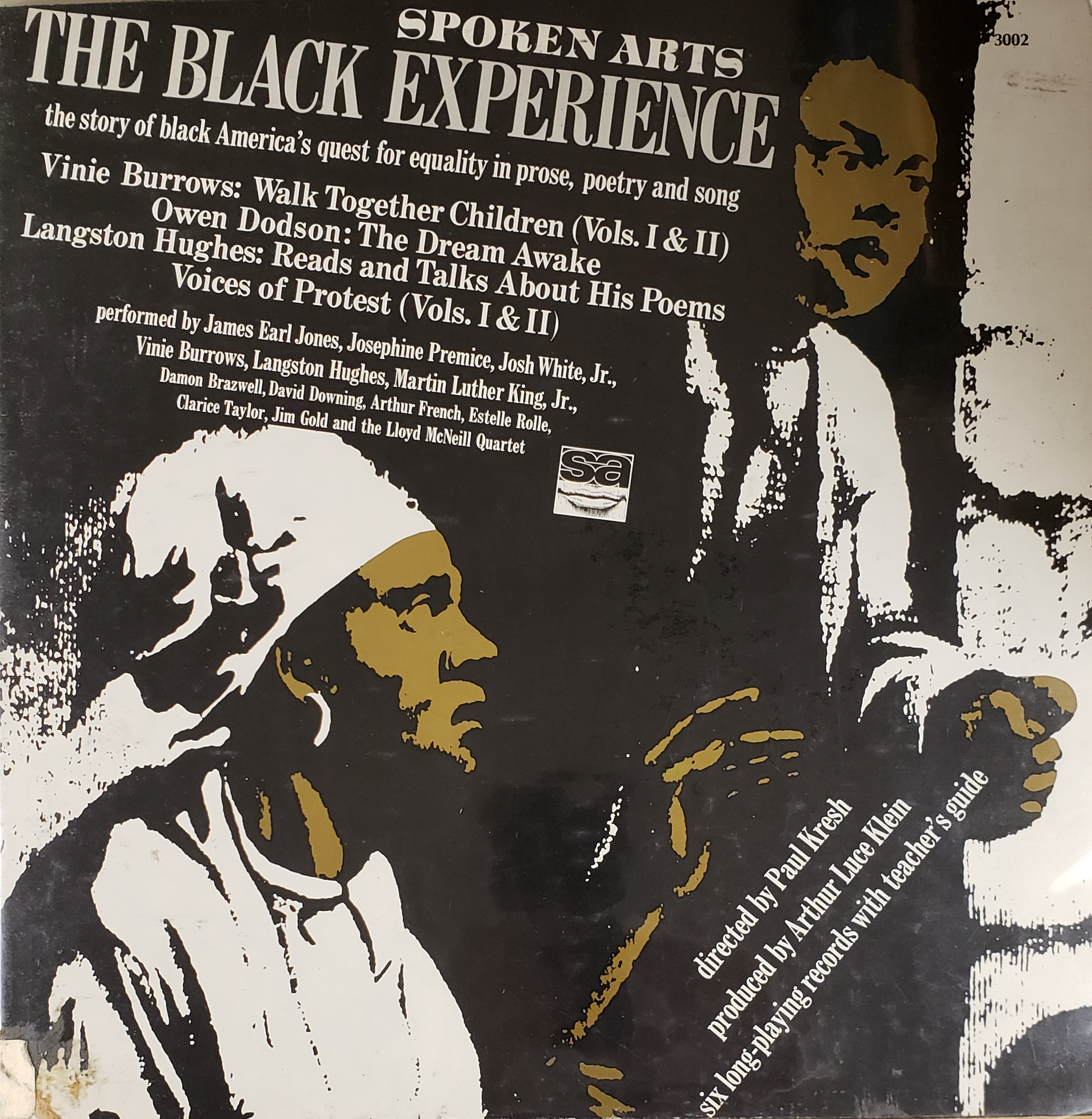 The Black experience; the story of black America's quest for equality in prose, poetry and song.