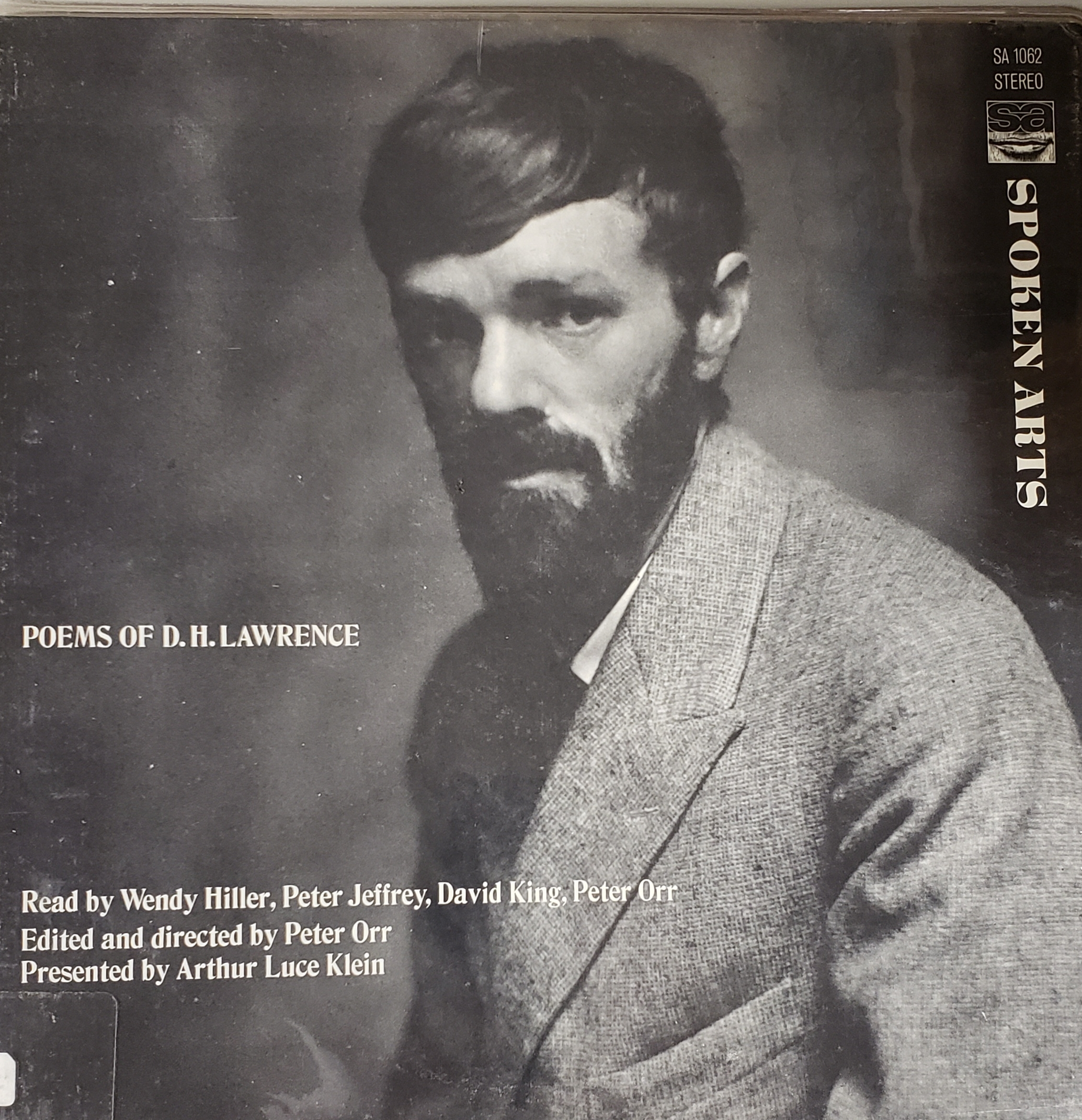 The poetry of D. H. Lawrence.