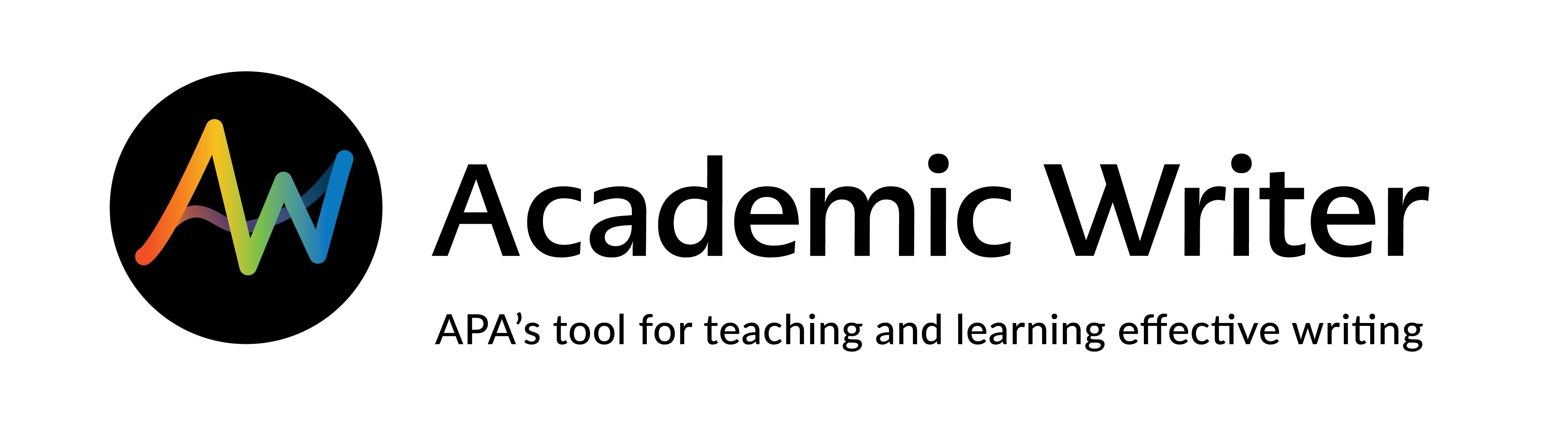 Logo for Academic Writer APA program