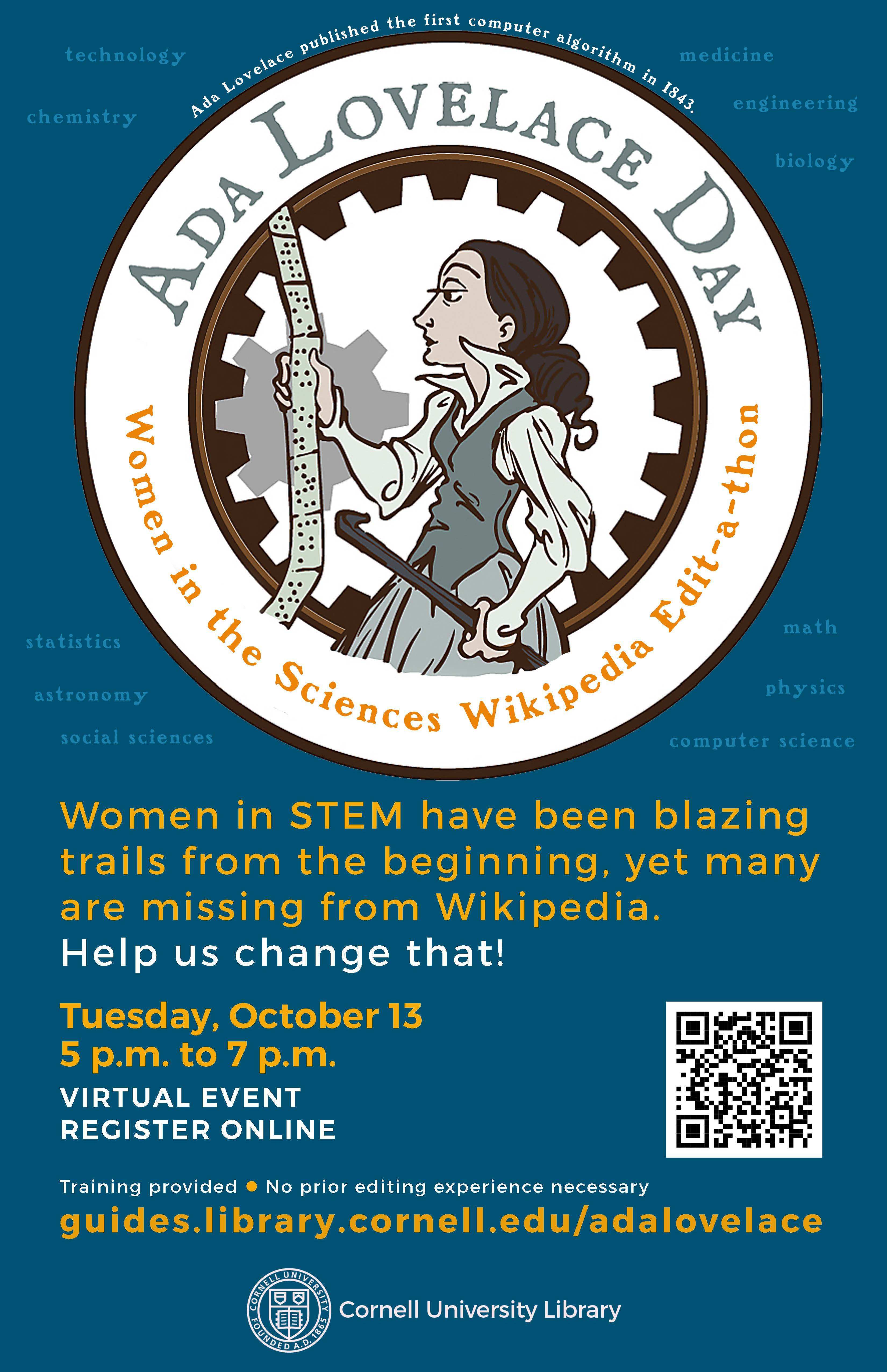 ada lovelace day event poster