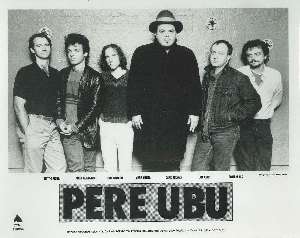 Pere Ubu photo by Deborah Treblitz