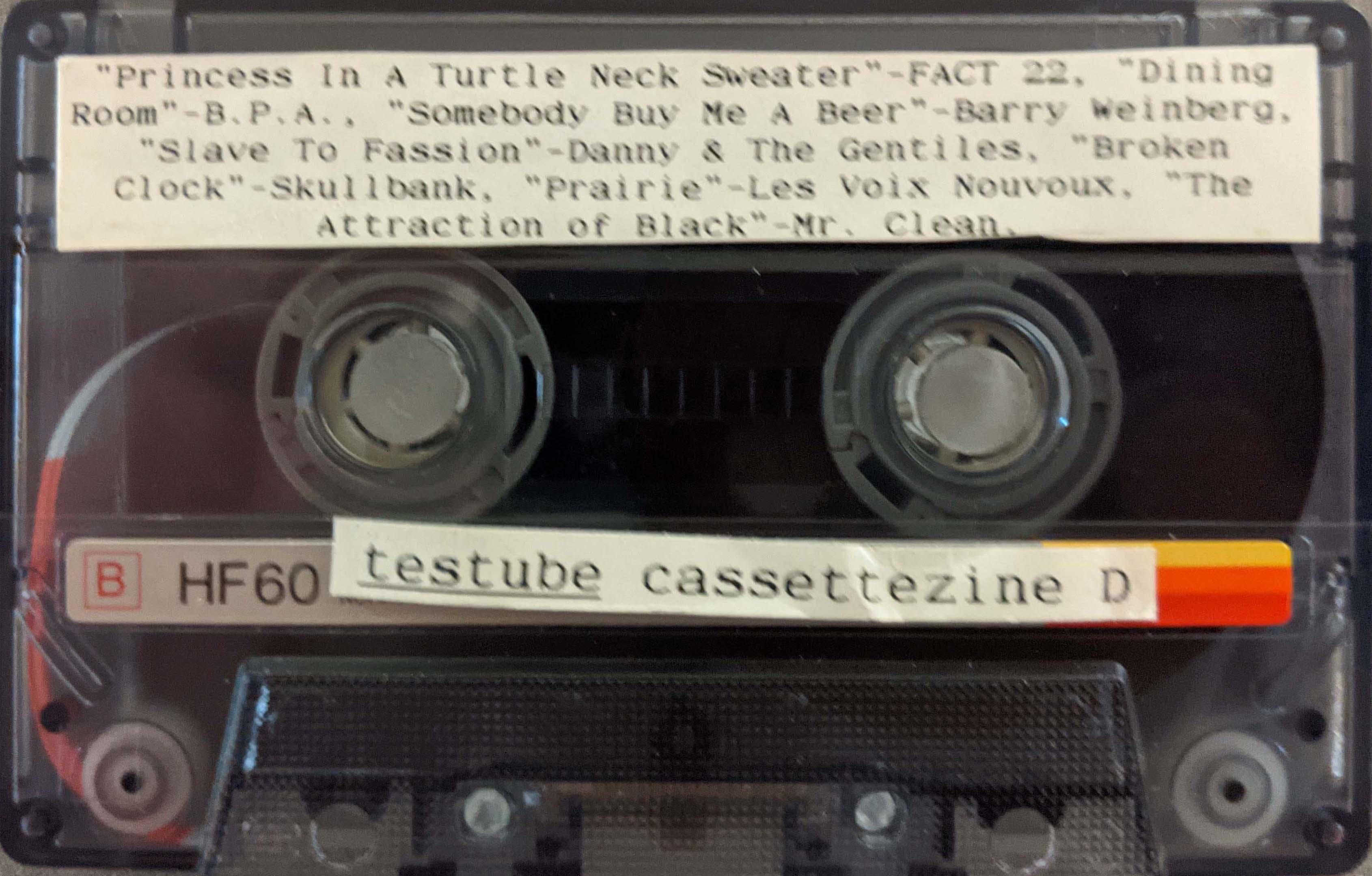 testube cassettezine D
