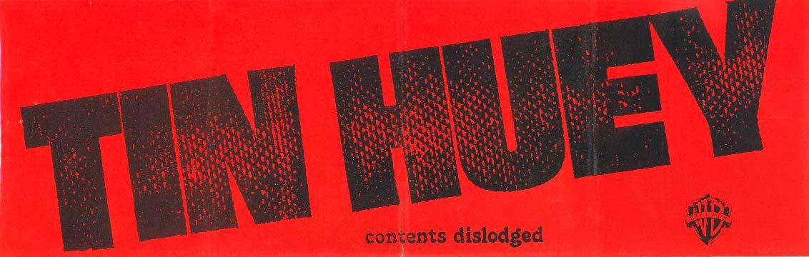 Tin Huey sticker