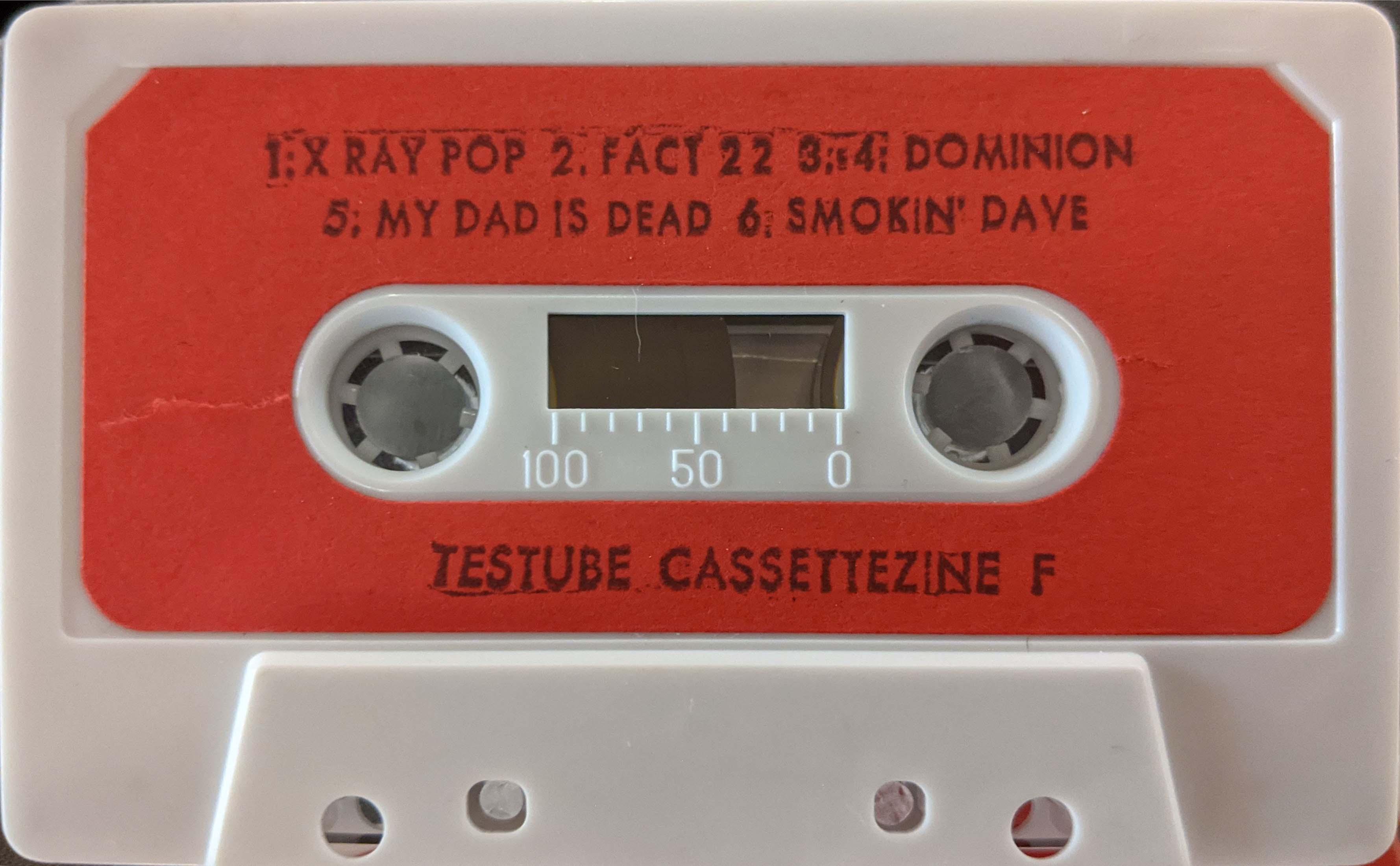 testube cassettezine F