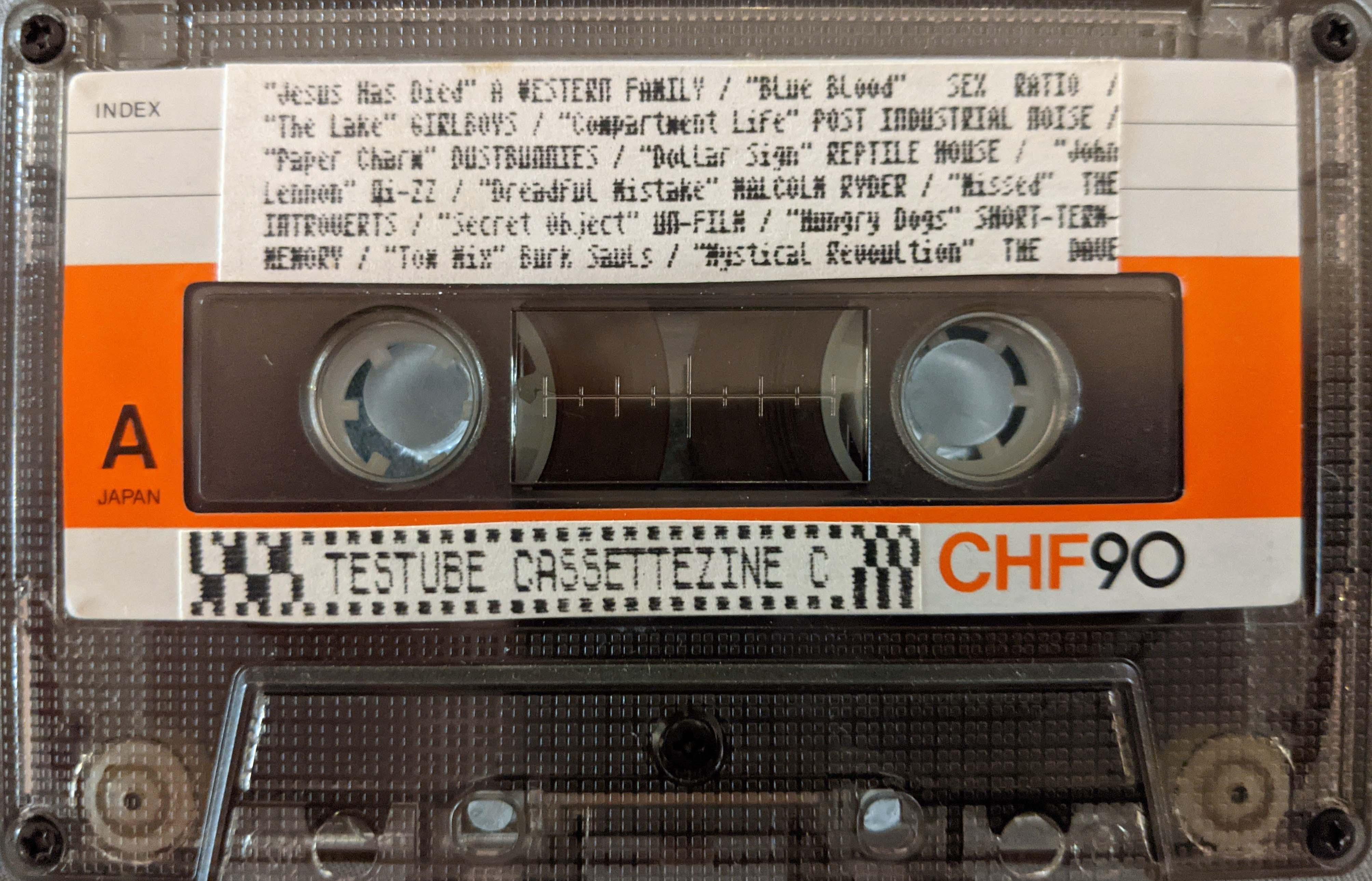Testube Cassettezine C