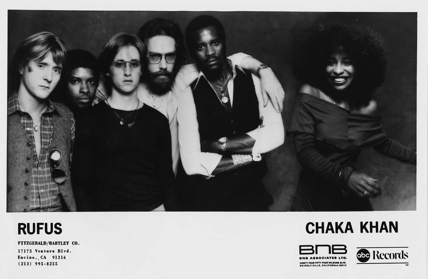 Promo photo of Rufus and Chaka Khan