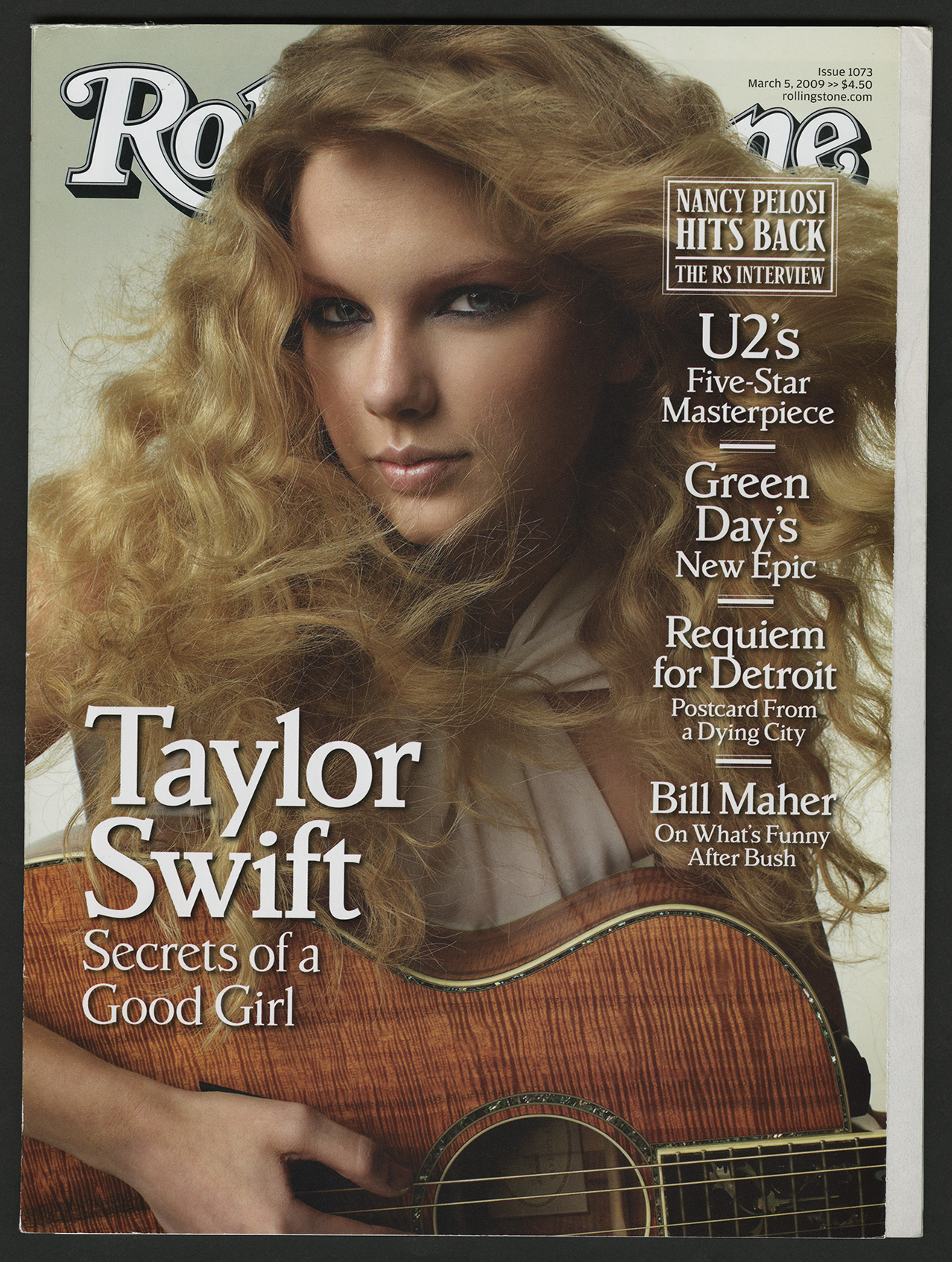Rolling Stone Taylor Swift cover