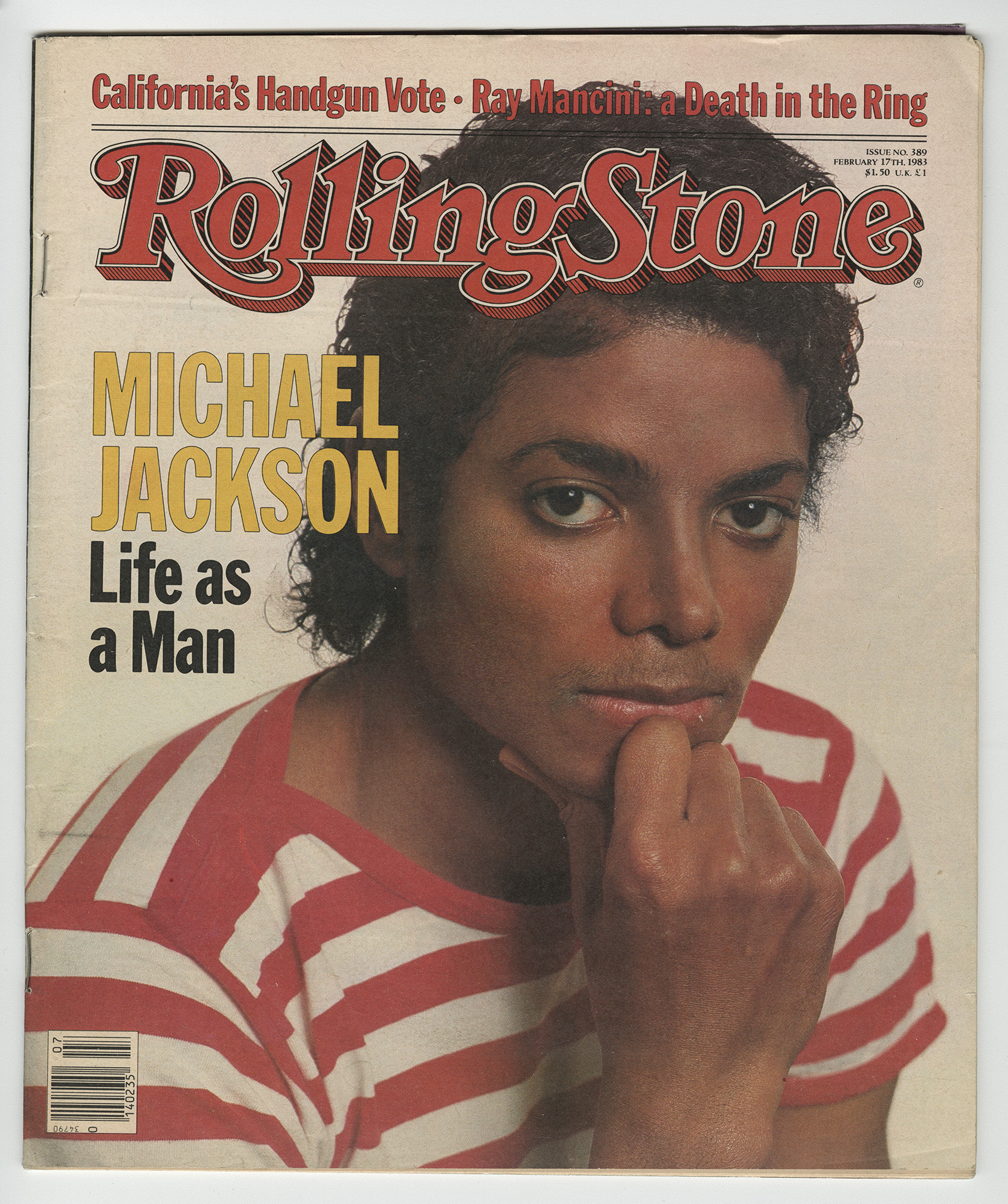 Rolling Stone Michael Jackson cover