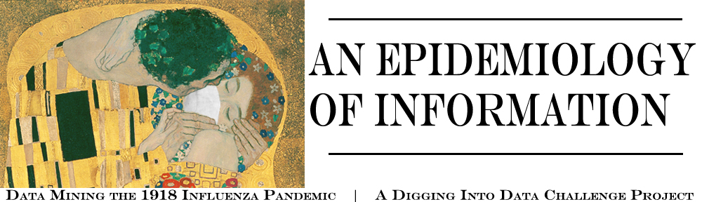 An Epidemiology of Information project logo