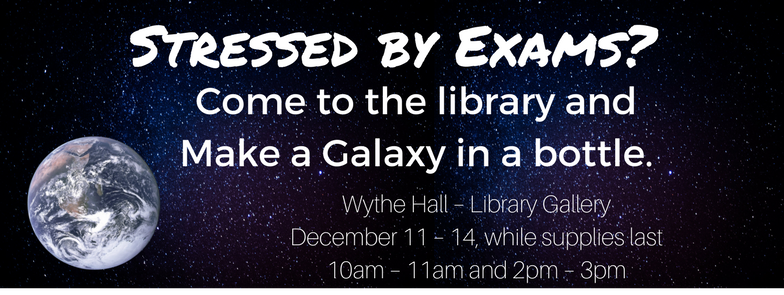 Galaxy in the library