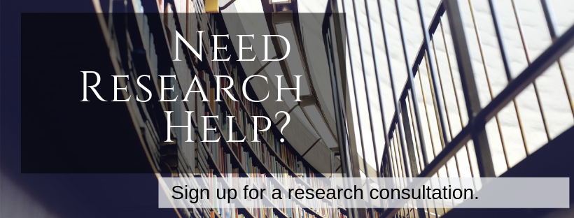 Sign Up For a Research Consultation