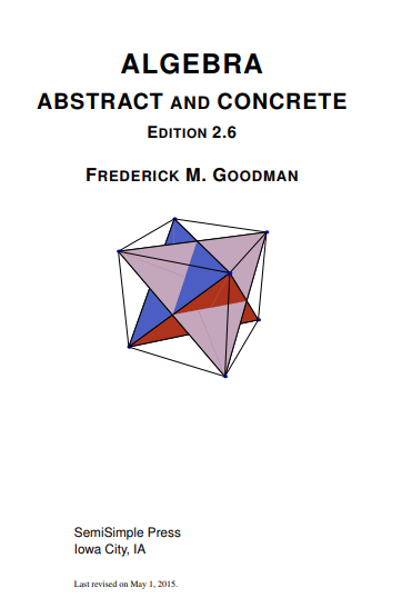 algebra abstract and concrete