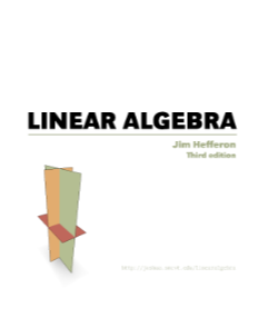 linear algebra textbook