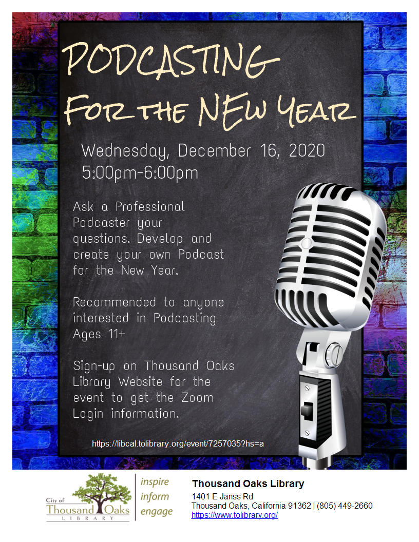 Podcasting for the New Year