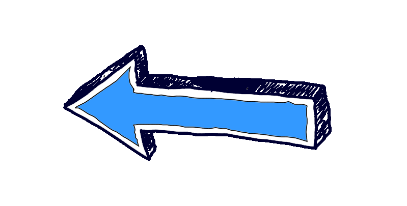 arrow pointing at the menu
