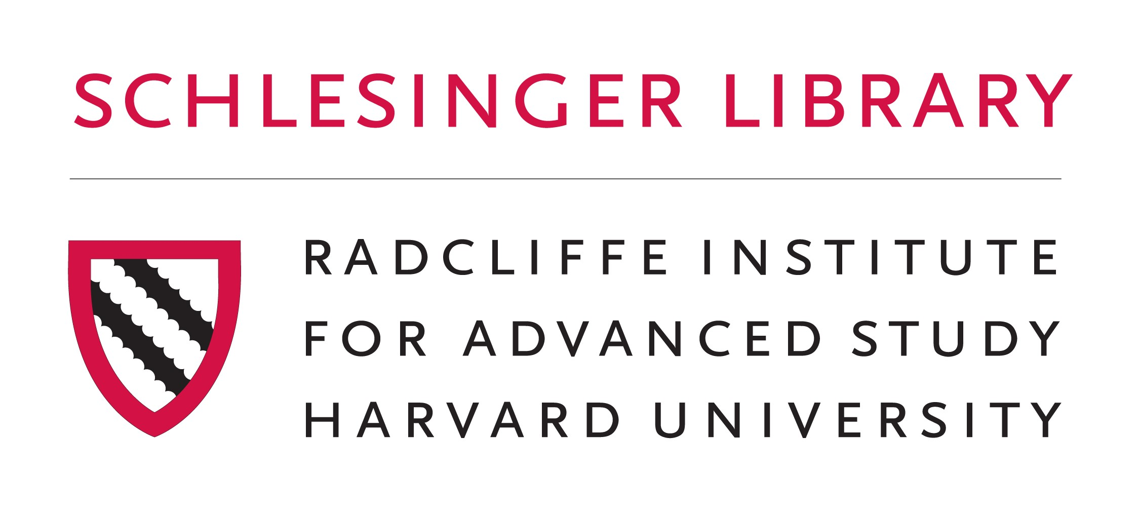 Schlesinger Library, Radcliffe Institute logo