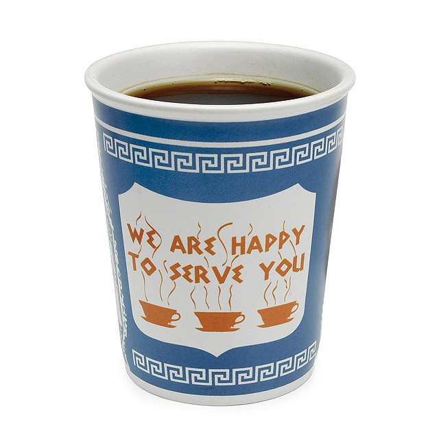 New York City Greek Coffee Cup
