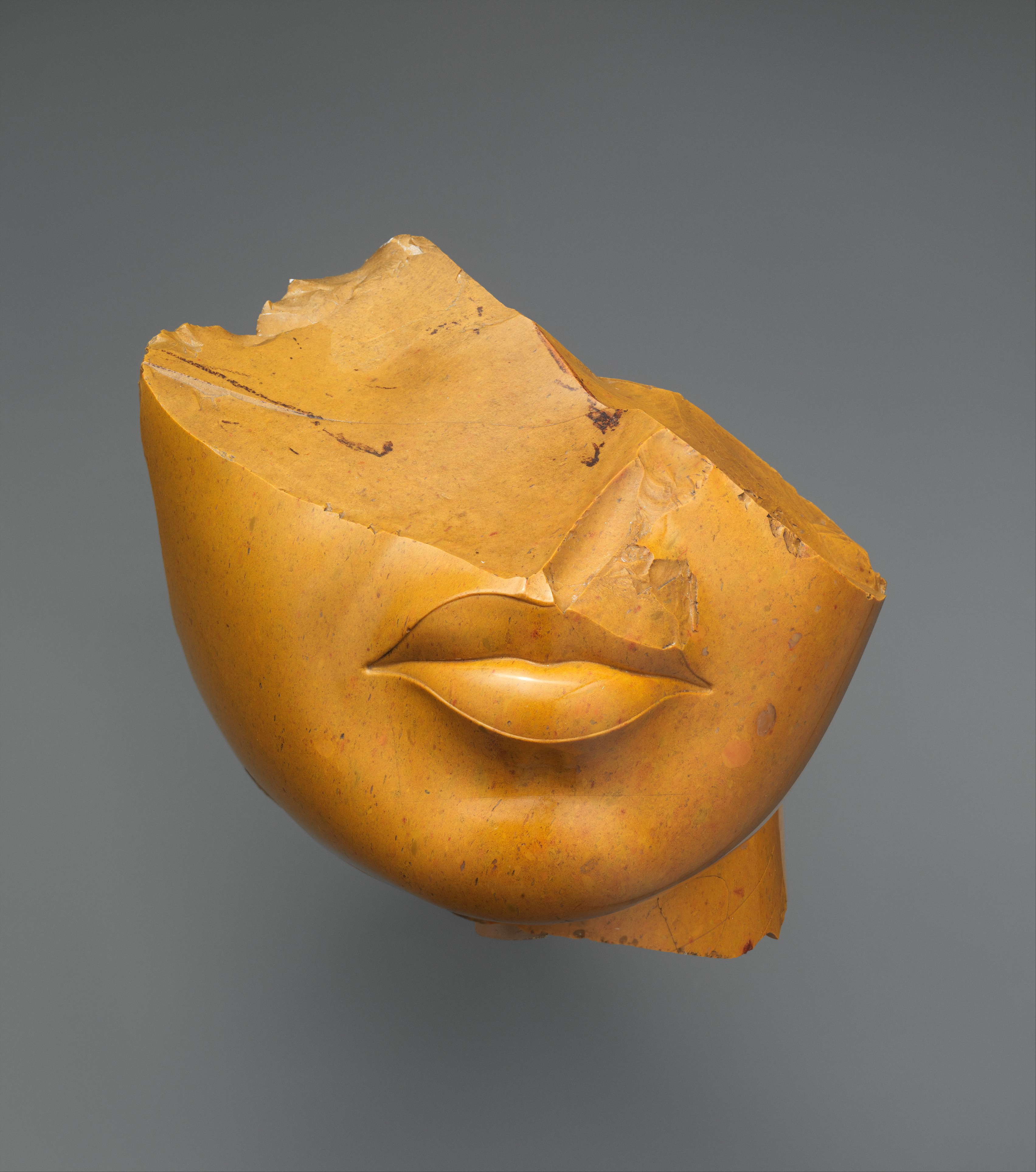 fragment of a woman's face (sculptural fragment)