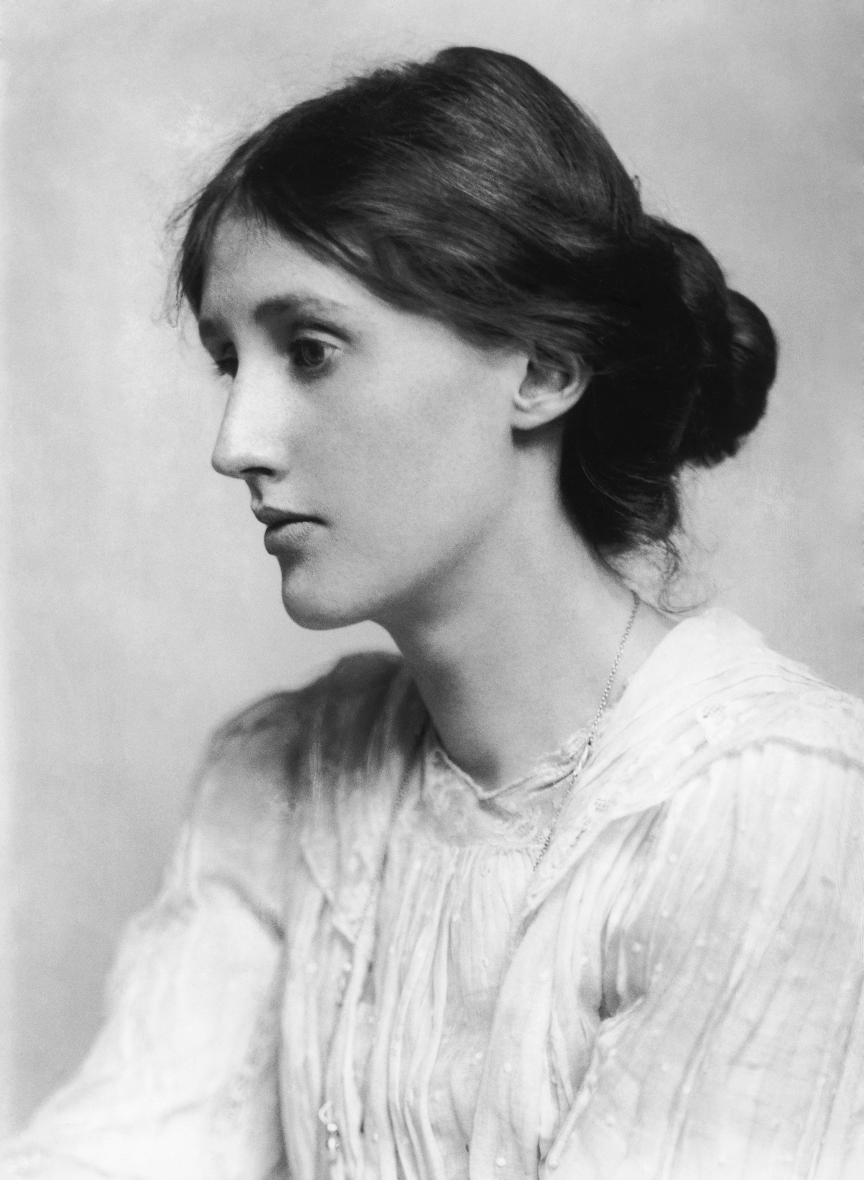 Photograph of Virginia Woolf by George Charles Beresford