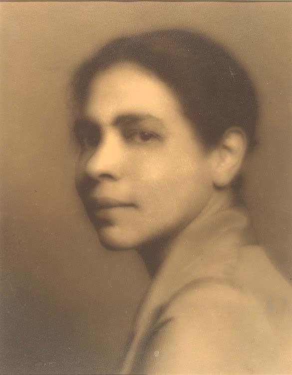 Portrait of Nella Larsen