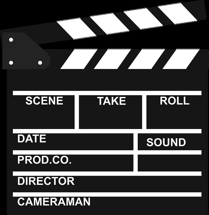 movie take sign