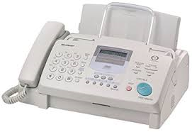 Grey Phone/Fax capable machine