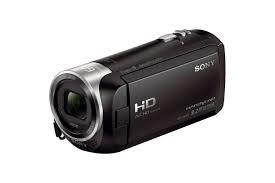 Small handheld video camera