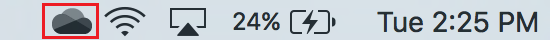 OneDrive Cloud Icon