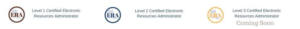ER Admin Certification Legend