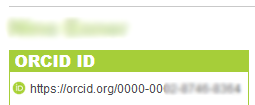 Example Orcid ID
