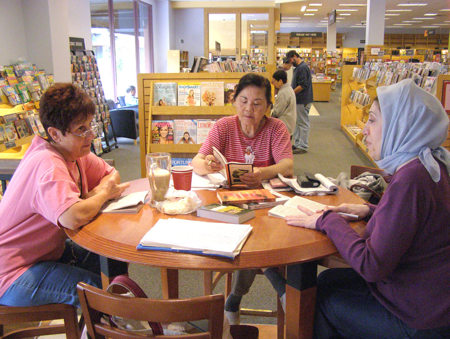 Photo of reading club