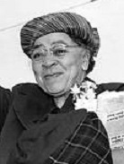 Charlotta Bass, Newspaper publisher and 1st African American woman on a presidential ticket