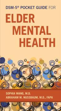 Book Cover Image of DSM-5 Pocket Guide for Elder Mental Health
