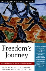 Book cover image of Freedom's Journey : African American Voices of the Civil War